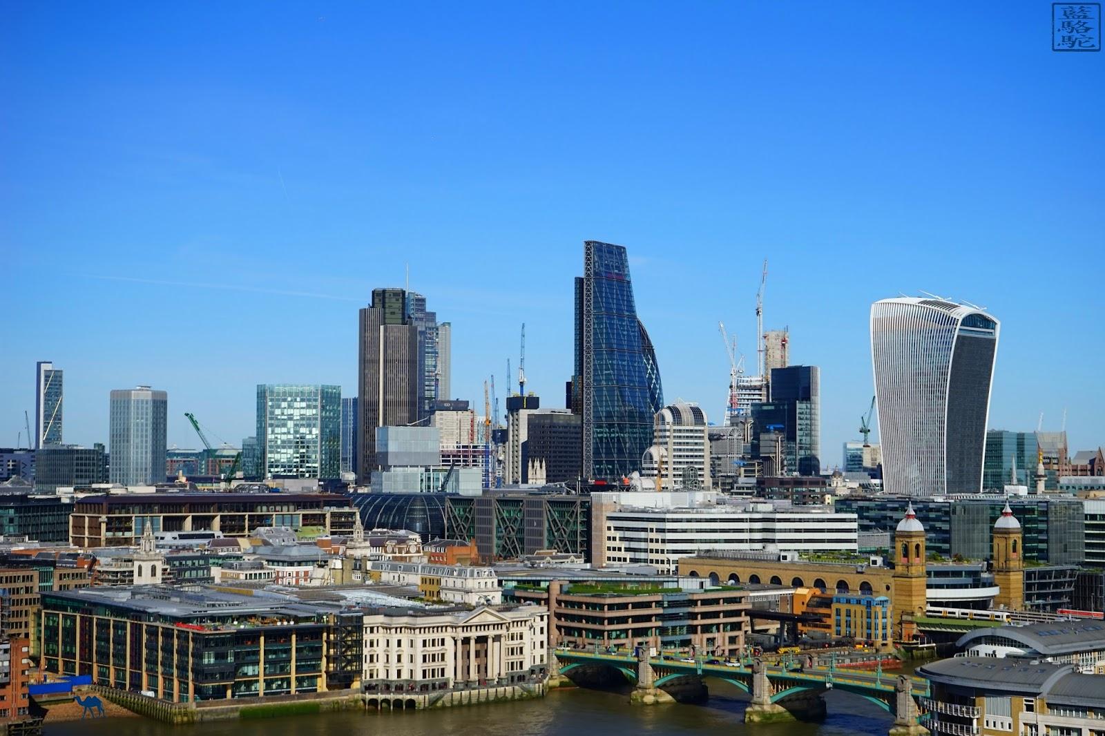 Le Chameau Bleu - Londres - Vue du Tate - London
