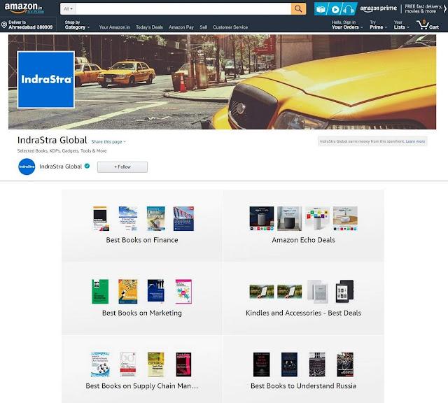 Amazon Influencer Program (India) | IndraStra Global