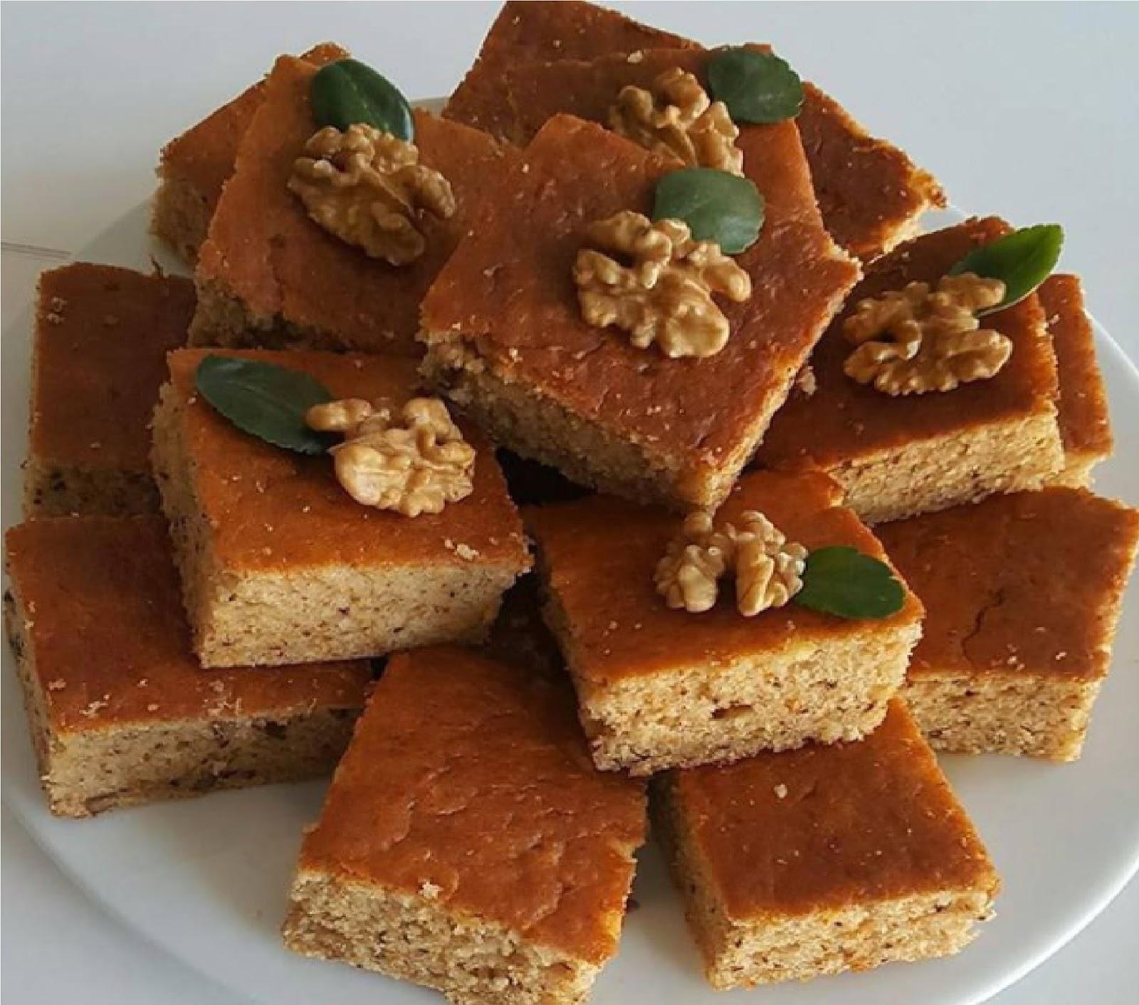 Cevizli havuçlu kek tarifi