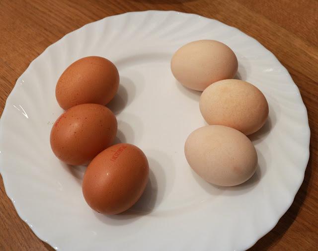 czym wybielić jajka