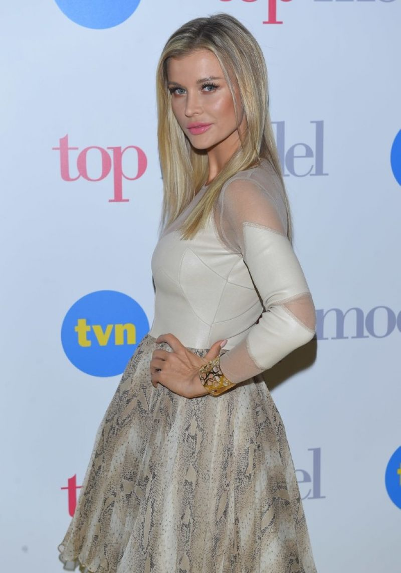 HD Photos of Joanna Krupa At Top Model New Season Promotion In Warsaw