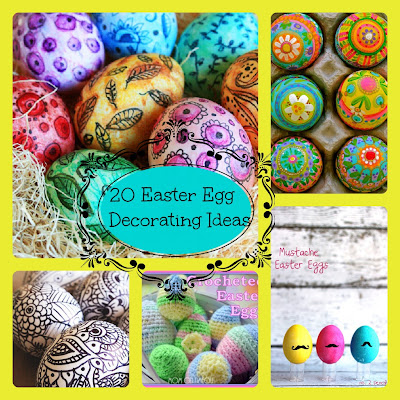 Easter Egg Ideas-20 Great Egg Decorating Ideas
