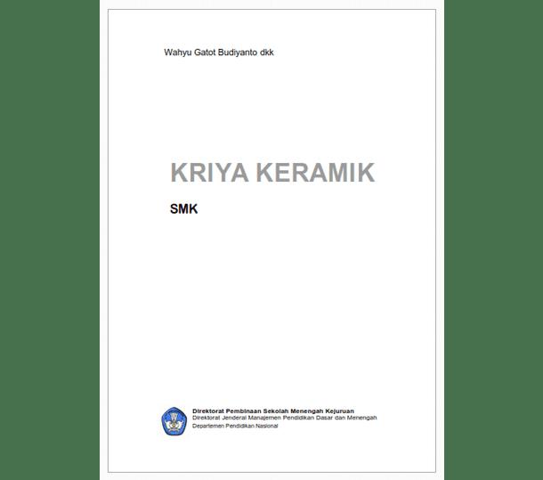 Buku SMK Seni dan Pariwisata Kriya Keramik