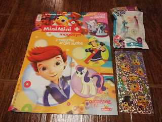 Magazyn Mini Mini z pieczątką My Little Pony