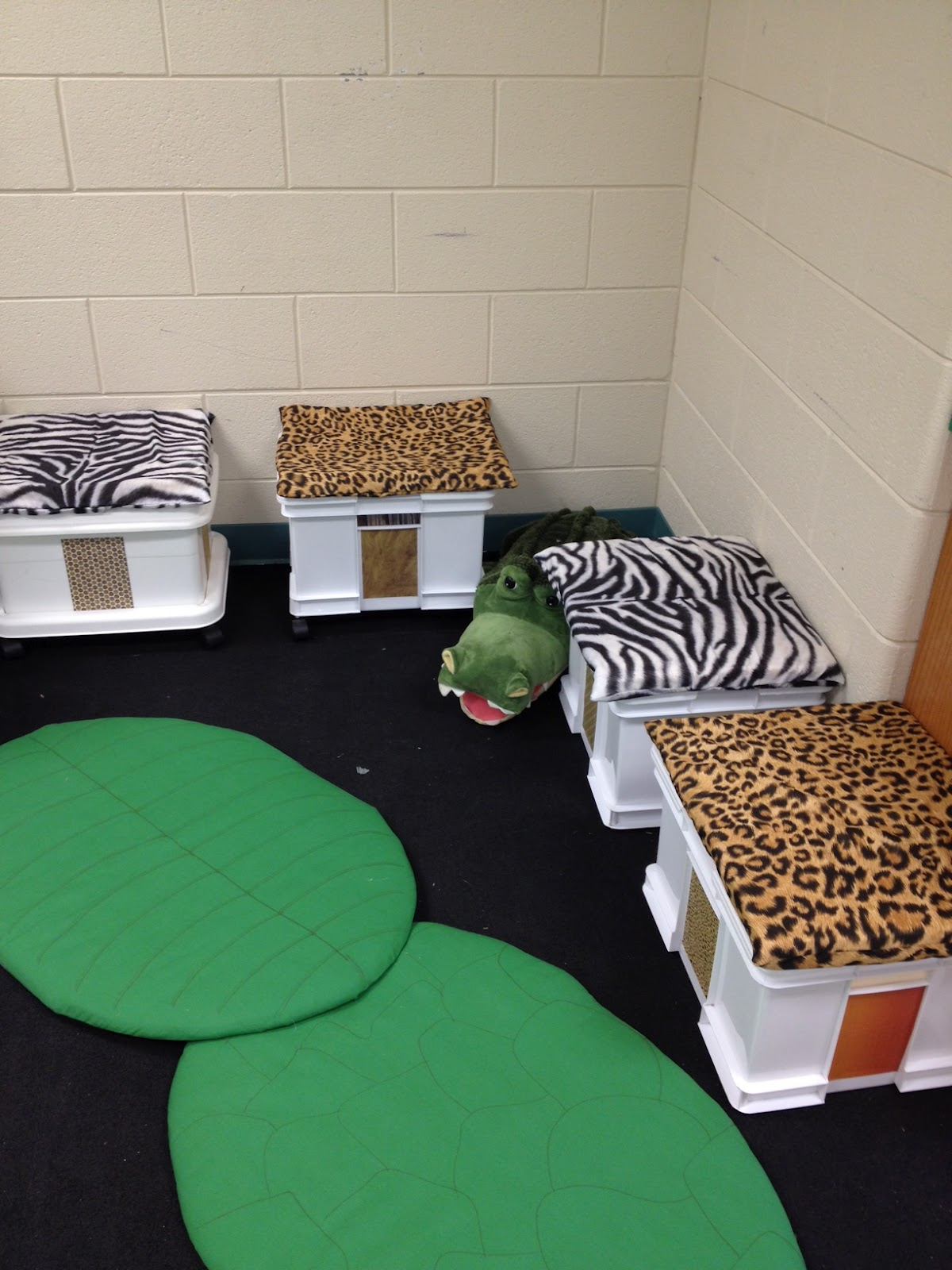And How Are The Children Animal Print Themed Classroom