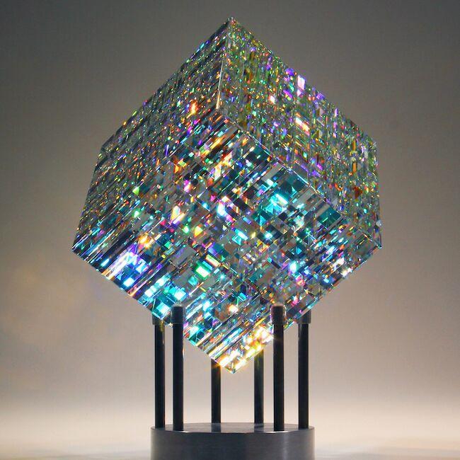 This Artist Uses Fibonacci Ratios To Create Beautiful Glass Sculptures