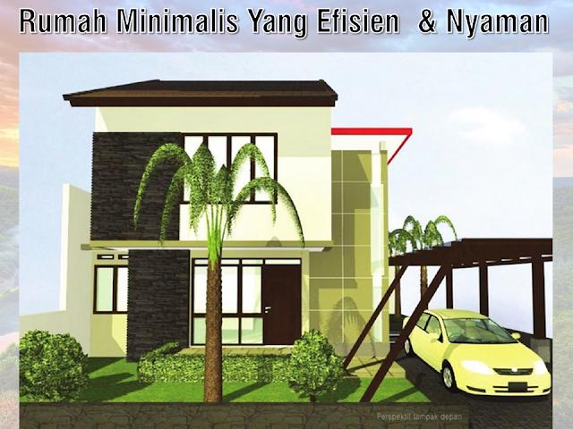 Rumah Minimalis Yang Efisien dan Nyaman