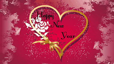 Happy New Year Card HD Wallpaper