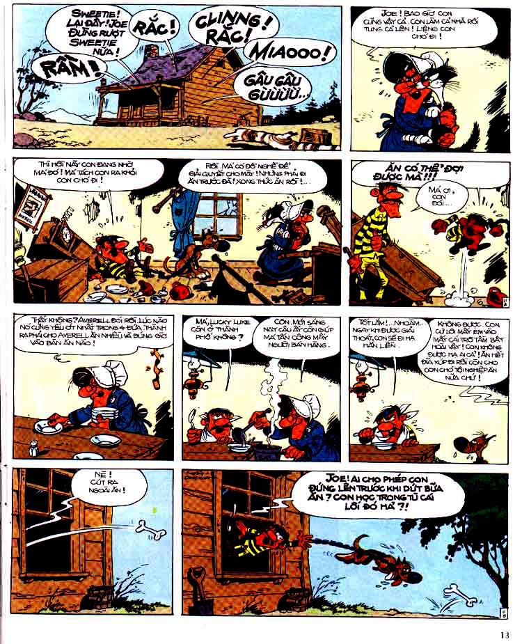 Lucky Luke tap 15 - ma dalton trang 14