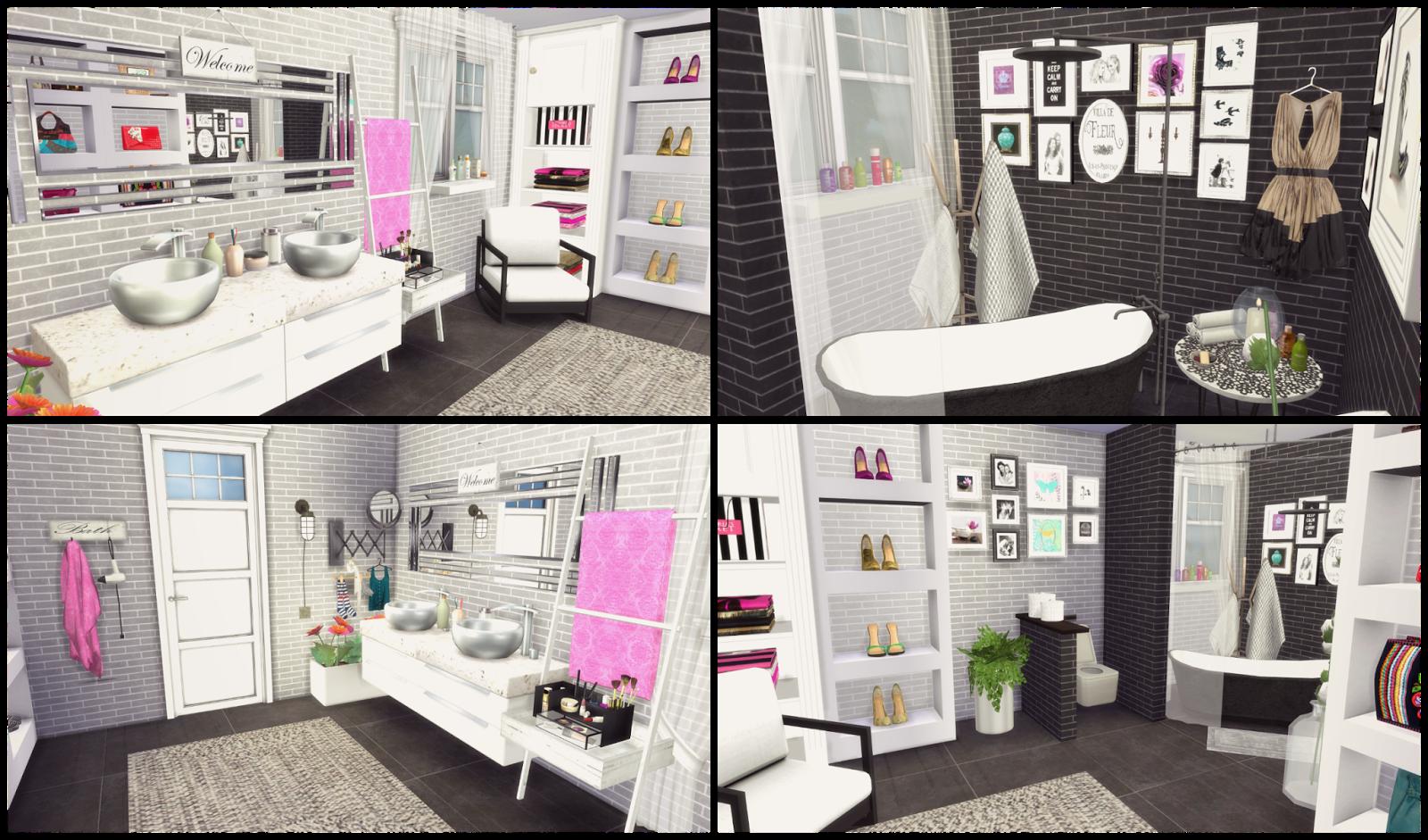 Modern Home Decor Magazines Sims 4 Bathroom Ii Dinha
