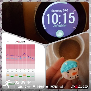 Polar Vantage V Test Training Cardio Load