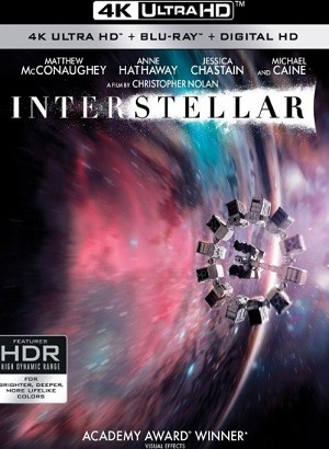 Interestelar 4K Ultra HD IMAX Filmes Torrent Download capa