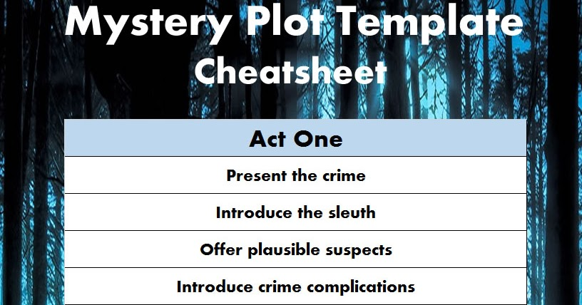 mystery story essay