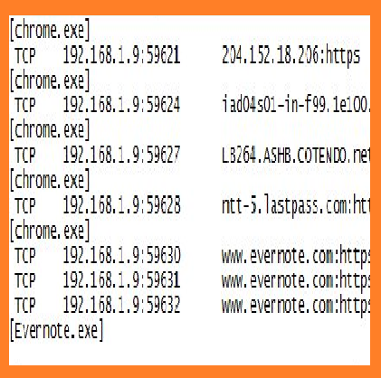 PC secretly connecting unknown websites