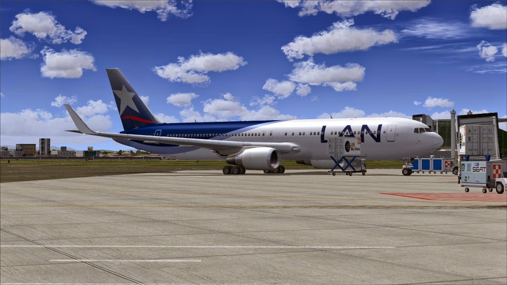 FS No Sangue: FSX - Level-D Boeing 767-300ER