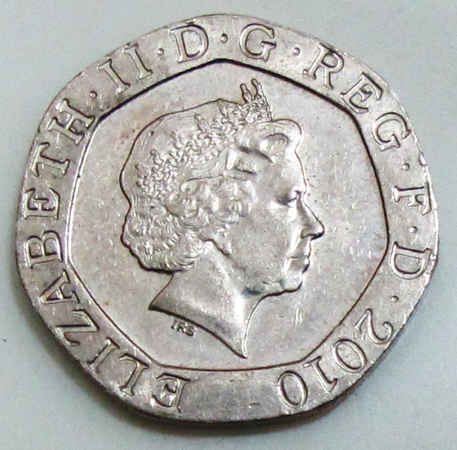 2010 British Twenty Pence