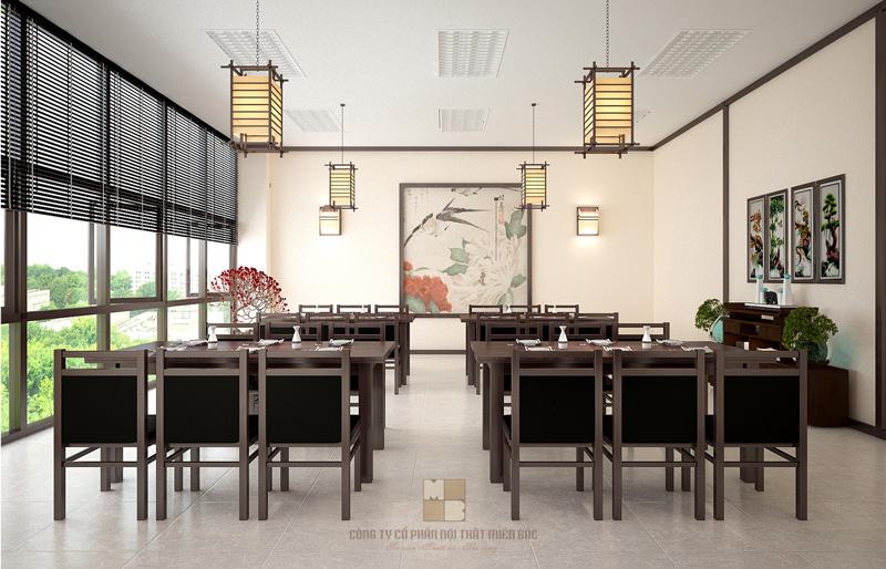 Thiết kế nhà hàng kiểu Nhật tạo sự thư thái, an nhiên