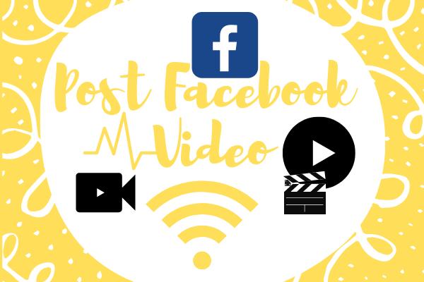 Post Facebook Video