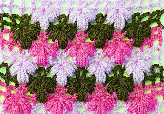 Imagen de puntada verde a crochet y ganchillo Majovel crochet 6