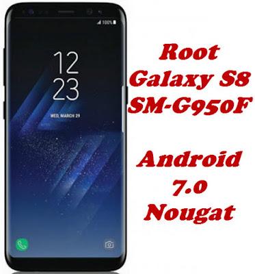 Root Galaxy S8 SM-G950F