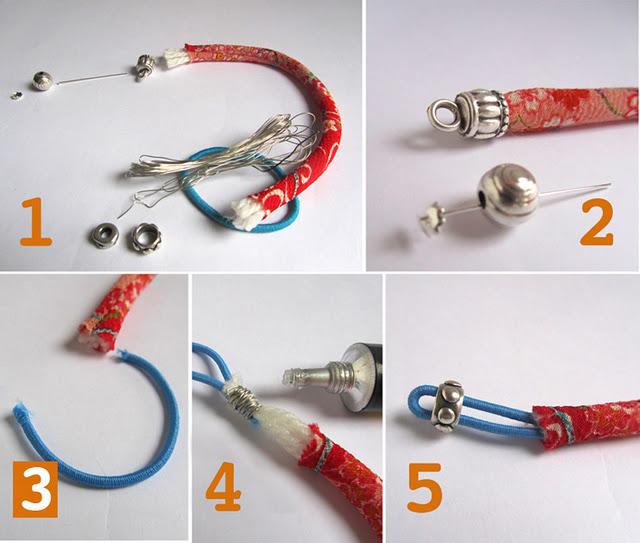 pulseras, japonesas, brazaletes, manualidades, diys, bisutería