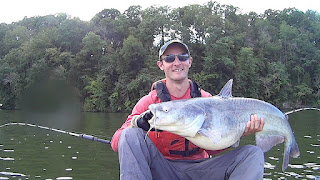 Post Cold Front Blue Catfish