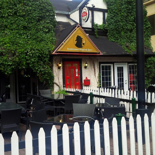 Sherlock Holmes Pub em Edmonton