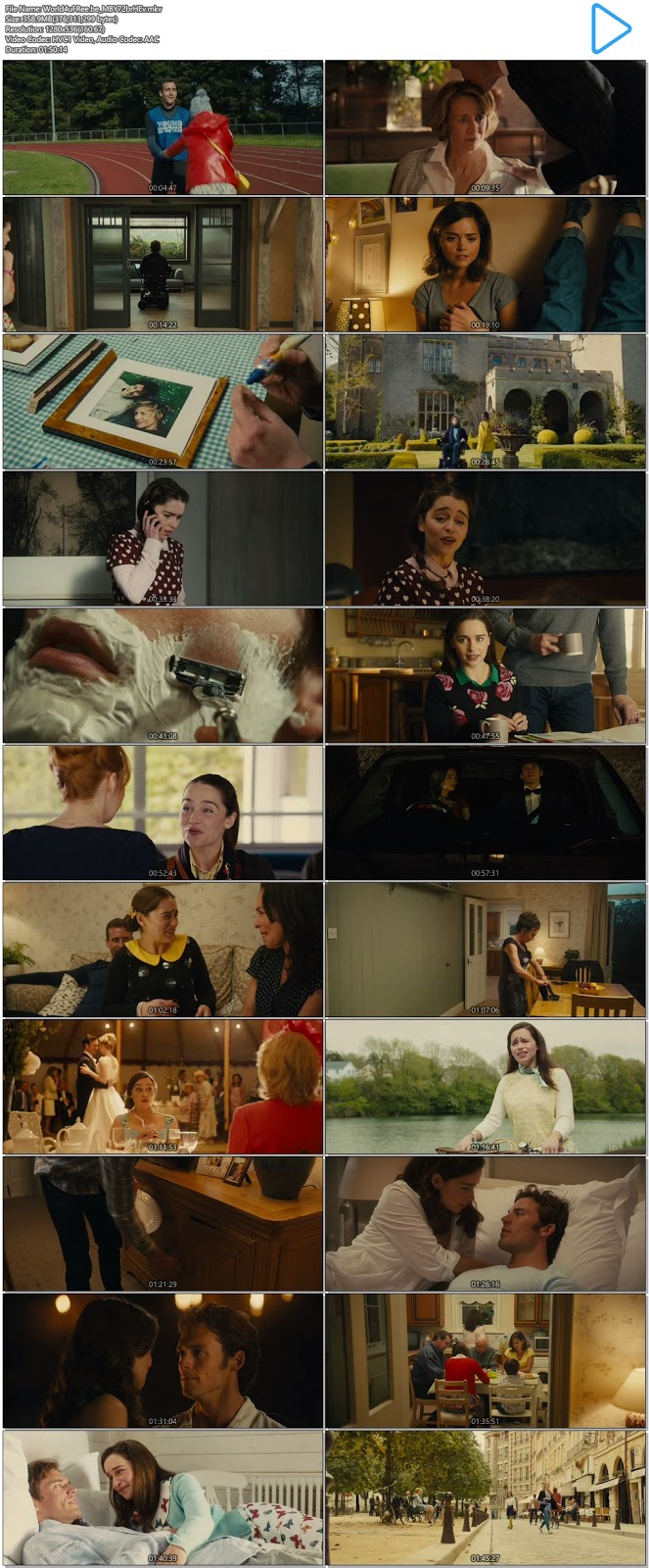 Me Before You (2016) English BRRip 480p 350Mb Download - Film4me
