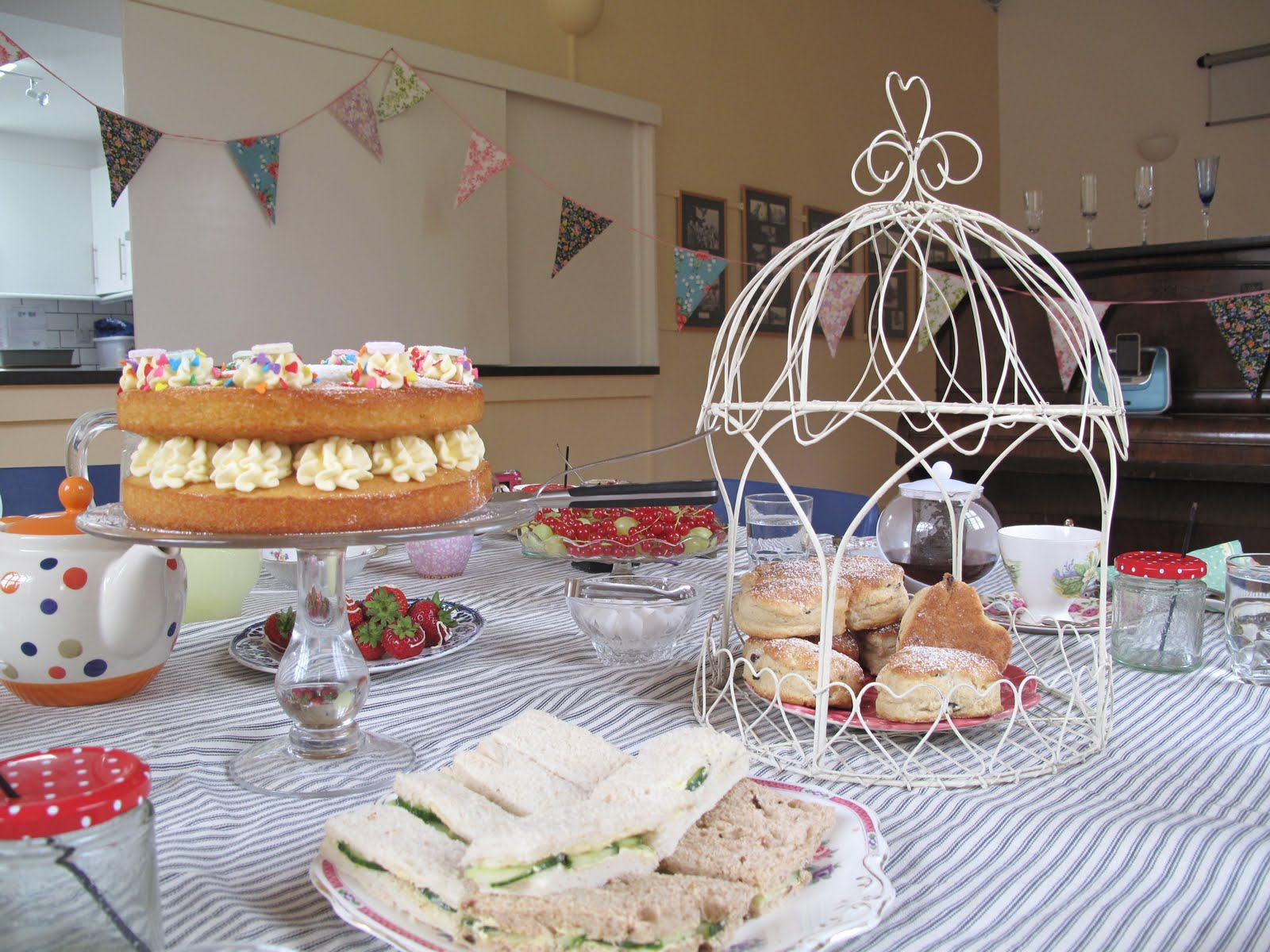Last Weekend I Hosted A Private Version Of The Secluded Tea Party For Group Sophisticated Hens Who Travelled From Norwich To Spend Lovely Warm Day In