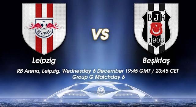 Prediksi Pertandingan RB Leipzig vs Besiktas