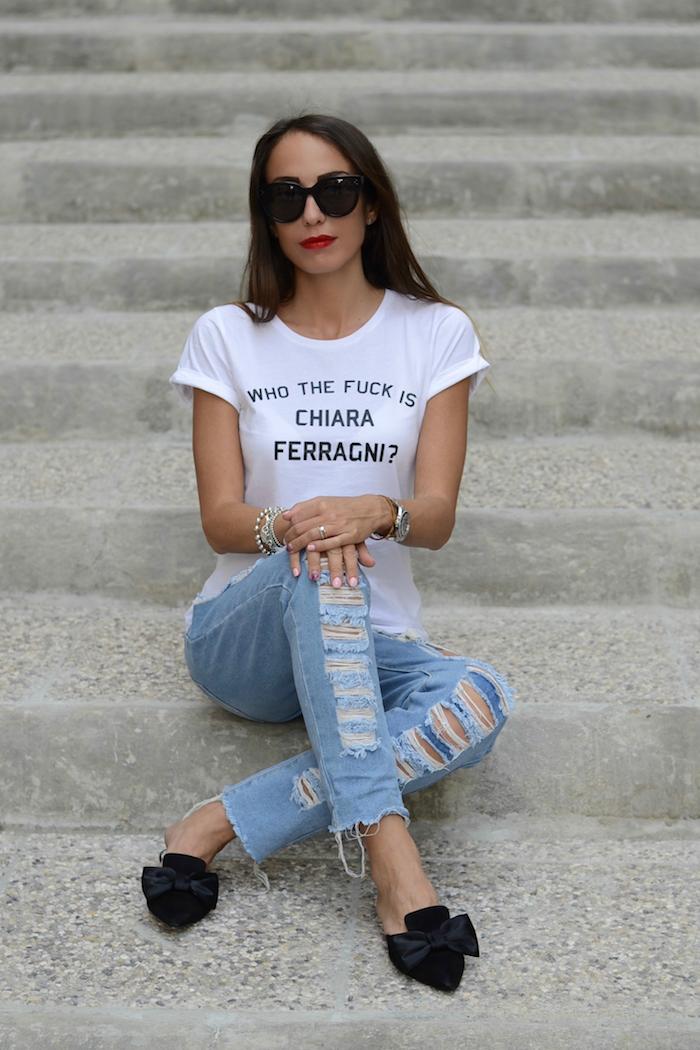 maglietta scritta ironica