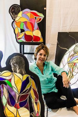 Raiza Carreño El Arte del Desnudo en Dos Géneros Alianza Francesa de Caracas sede Chacaíto Venezuela