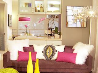 Casa de boneca decor marrom e rosa na decora o - Como decorar un piso sin gastar mucho ...