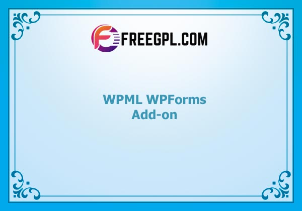 WPML WPForms Add-on Nulled Download Free