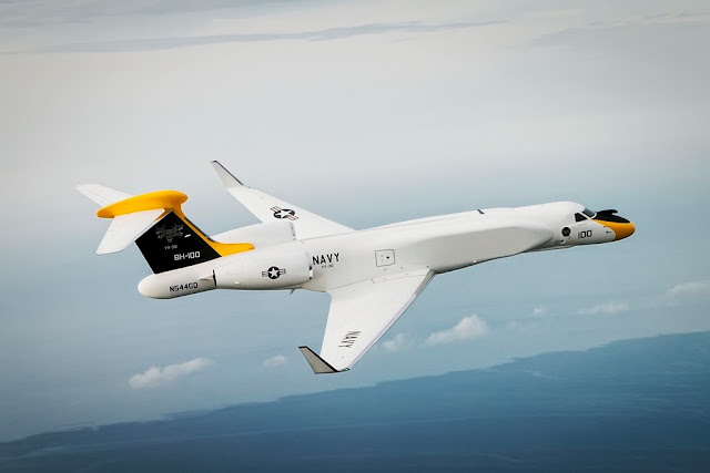 US Navy accepts Gulfstrem G550