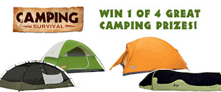Camping Survival Giveaway