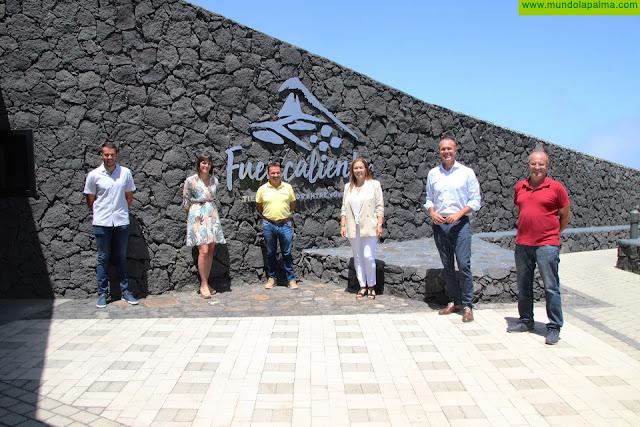 El Centro de Visitantes del Volcán San Antonio vuelve a abrir las puertas de sus remozadas instalaciones