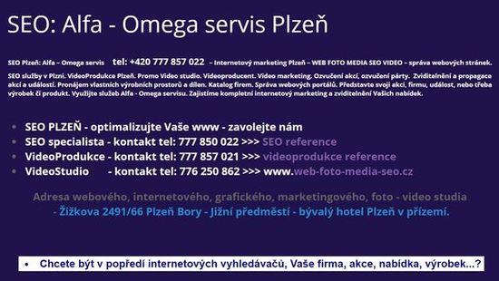 Seo Plzeň >>> optimalizace webových stránek pro internetové vyhledávače.