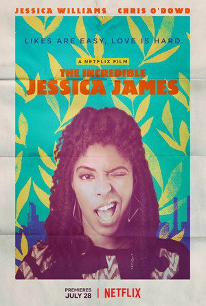 Poster The Incredible Jessica James 2017