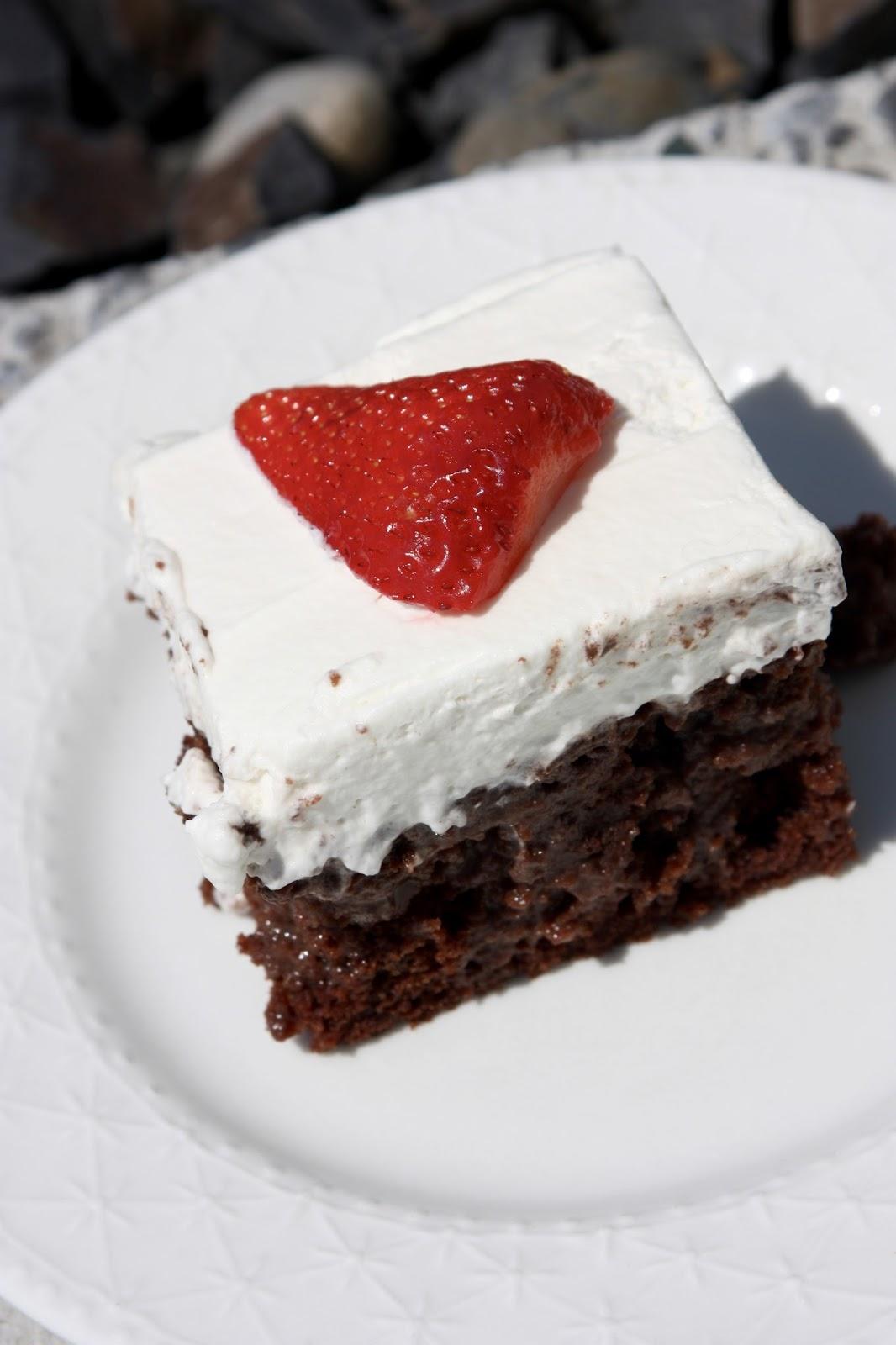 My Recipe Box: Chocolate Très Leches Cake