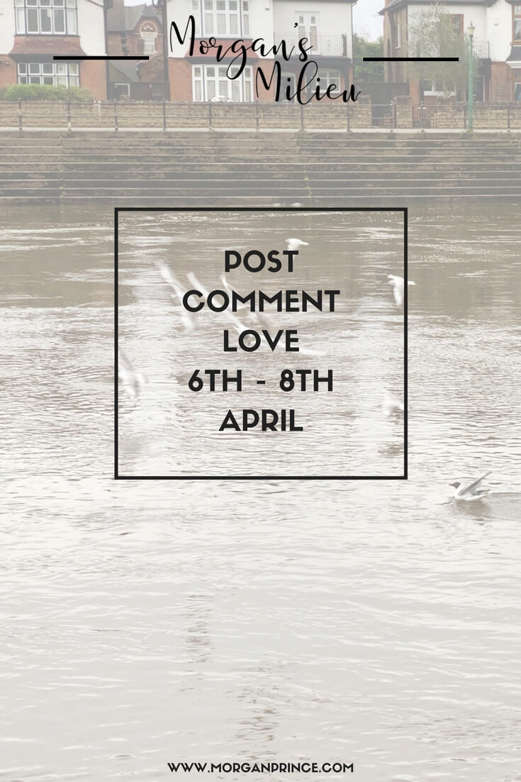 Join Stephanie and I for Post Comment Love this week. We're looking forward to reading your posts!