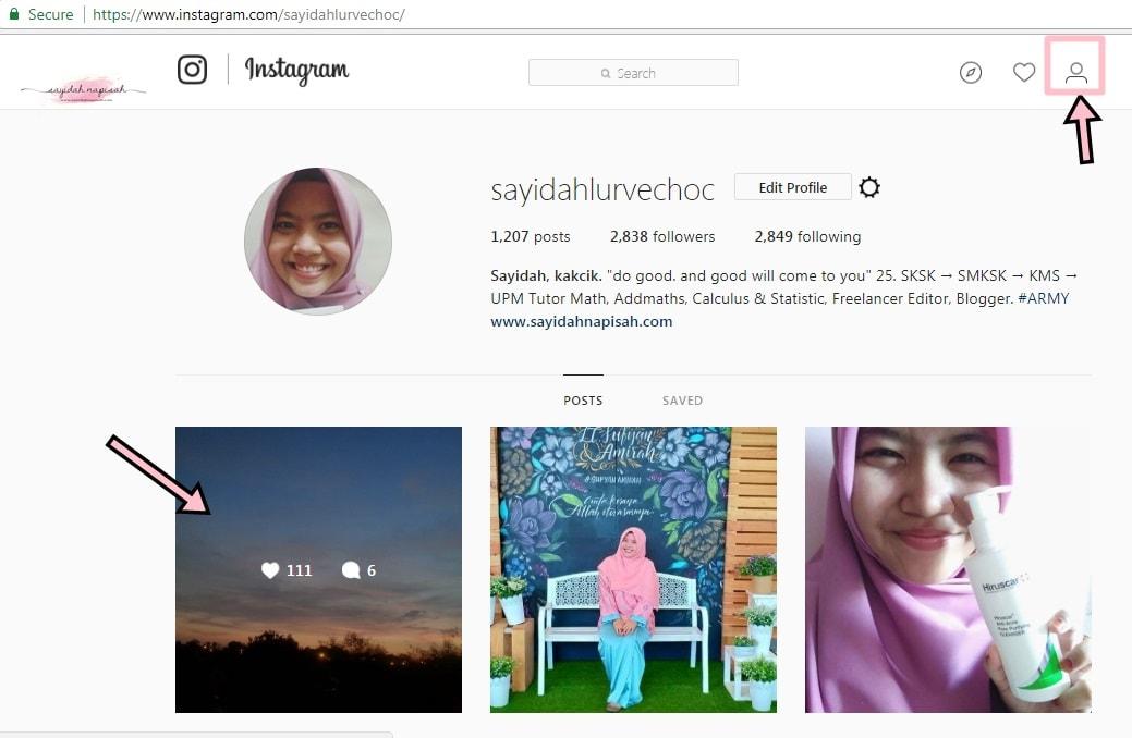 Cara Ambil Link Facebook, Instagram & Twitter Melalui Laptop