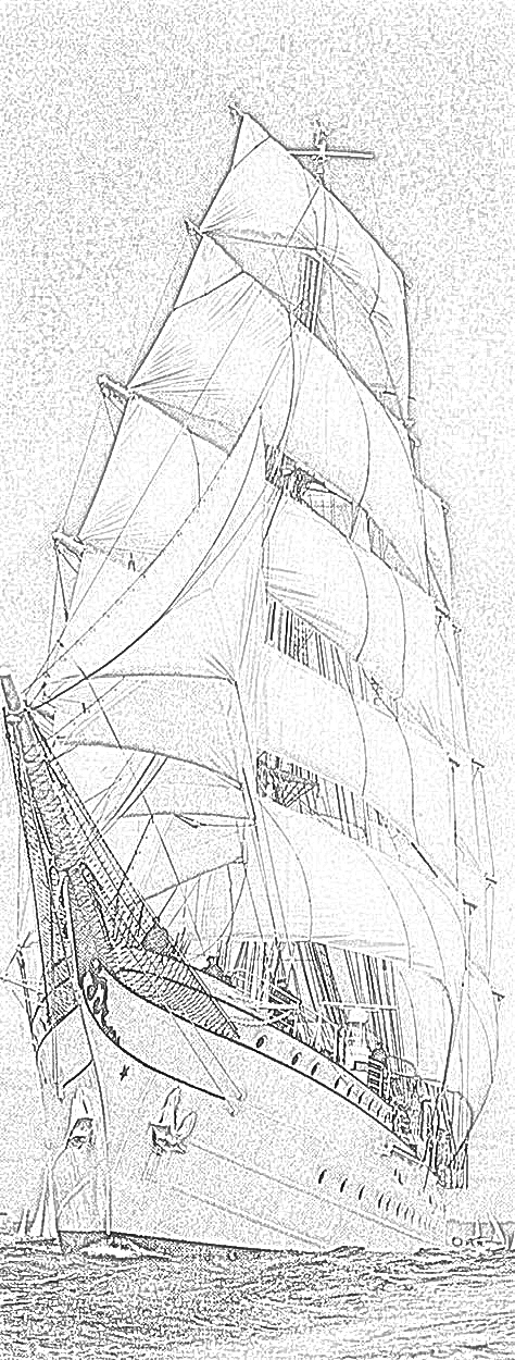british sailing warship coloring pages - photo#31