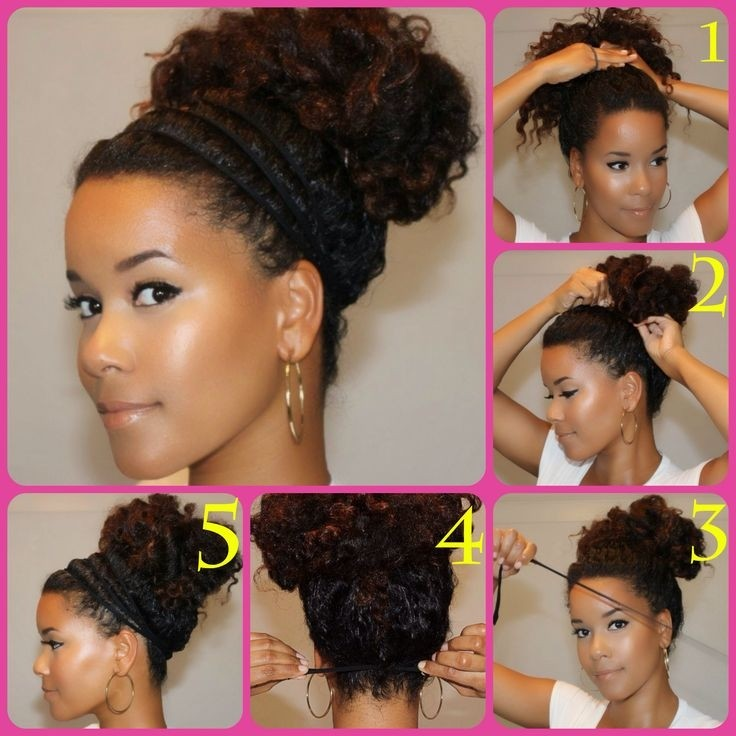 Natural Curly Hairstyles - cute