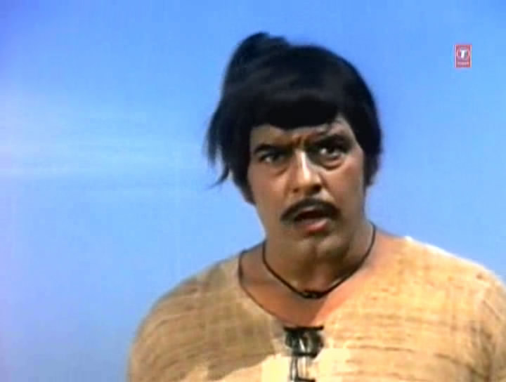 Screen Shot Of Hindi Movie Kisan Aur Bhagwan (1974) Download And Watch Online Free at worldfree4u.com