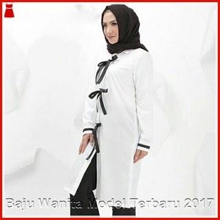 7GBDB Baju Hijab Najuwa Terbaru Keren Putih Bj2907
