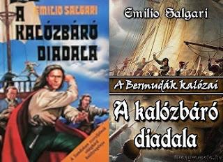 Emilio Salgari A kalózbáró diadala könyv bemutatása