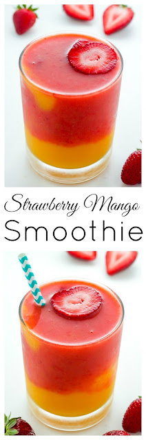 Strawberry Mango Smoothie Recipe Without Yogurt