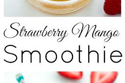 Strawberry Mango Smoothie Recipe Without Yogurt
