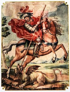 Saint George pray for us